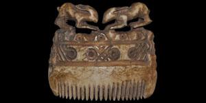 Roman Decorated Bone Comb