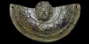 Thracian Bronze Figural Pendant