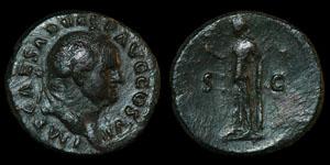 Roman Vespasian - Rome - As