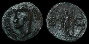 Roman Agrippa - Struck Under Caligula - As