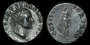Roman Vespasian - Rome - Denarius