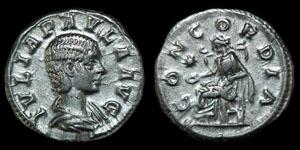 Roman Julia Paula - Rome - Denarius
