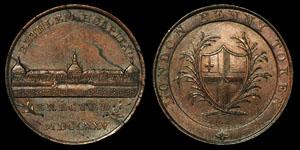 18th Century Kempson - Bethlem Hospital - Token Penny