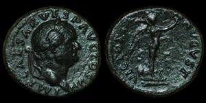 Roman Empire - Vespasian - AE As