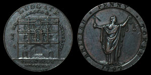 18th Century Kempson - Ludgate - Token Penny