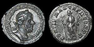 Roman Macrinus - Rome - Denarius