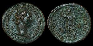 Roman Domitian - Rome - Dupondius