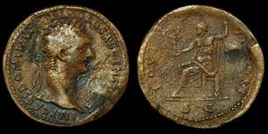 Roman Domitian - Rome - Sestertius