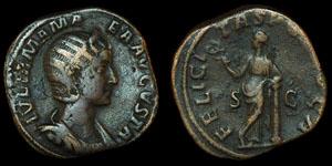 Roman Julia Mamaea - Rome - Sestertius