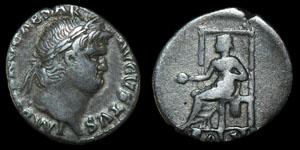 Roman Nero - Lyons - Denarius