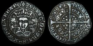 English Medieval Henry VI - Calais - Annulet Groat