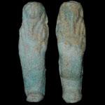 Egypt - Two Shabti Figures