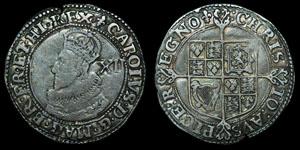 Charles I - Tower Shilling