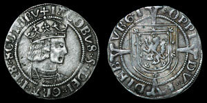 Scottish James V - Edinburgh - Groat