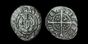 English Medieval Richard II - London - Farthing