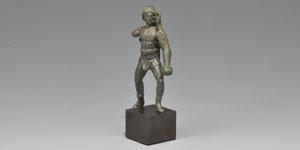 Roman Bronze Gladiator Statuette