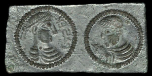 Roman Bronze Trial Piece
