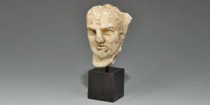 Roman Marble Head of a Senator