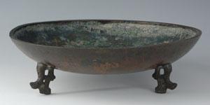 Far East - Zoomorphic Bronze Bowl