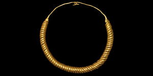 Bronze Age Gold Coiled Torc