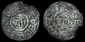 Saxon Archbishop Aethelheard with Coenwulf - Group III Penny