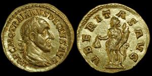 Roman Empire - Trajan Decius - Aureus
