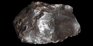 Geological Sikhote Alin Meteorite
