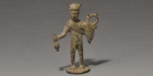 Roman Bronze Mercury Statuette