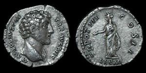 Roman Marcus Aurelius - Rome - Denarius