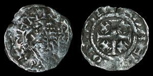 English Medieval Henry II - Ipswich/Robert - Tealby Penny