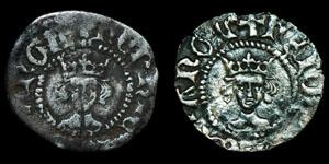 English Medieval Henry VI - London - Annulet Halfpennies [2]