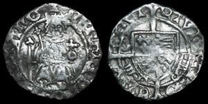 Tudor Henry VII - York - Sovereign Penny