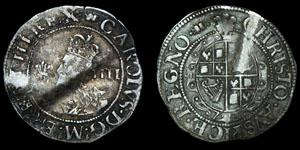 Stuart Charles I - Aberystwyth - Groat