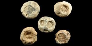 Sassanian Clay Bulla Seals