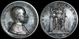 Vatican - Pius XII - Anno II - Silver Medal