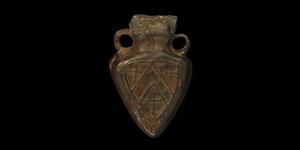Medieval Pilgrim Ampulla