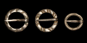 Medieval Silver Annular Brooches