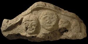 Celtic Iron Age - Stone Tympanum and Pediment