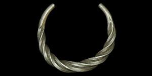 Viking Twisted Silver Bracelet