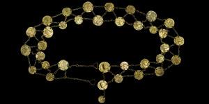 Roman - Modern Belt of Thirty Four Bronze Coins