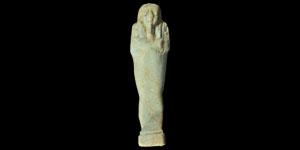Egyptian 26th Dynasty Shabti Figurine