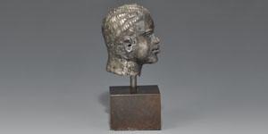 Roman Silver Male Head