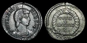 Roman Empire - Julian II - Siliqua