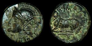 Greek Ionia - Civic Coinage - Athena and Ram Unit