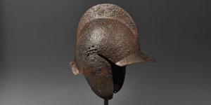 Medieval Burgonet Helmet