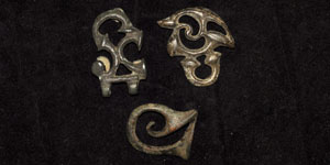 Romano Celtic Trumpet Whorl Belt Fittings