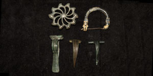 Roman Mixed Brooch Group