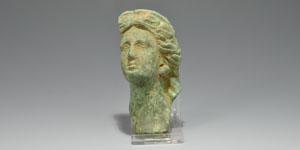 Roman Female Head Steelyard Weight