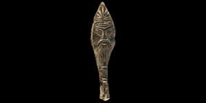 Roman Figural Escutcheon