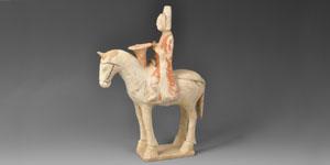 Chinese Tang Horse and Musician Rider